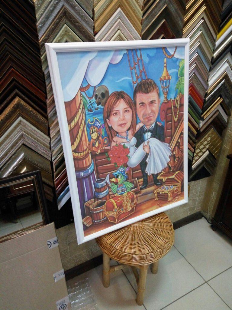 портрет шарж на заказ в тюмени