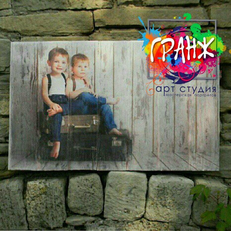 Картины на досках и портреты на дереве в стиле лофт на заказ купить Тюмень