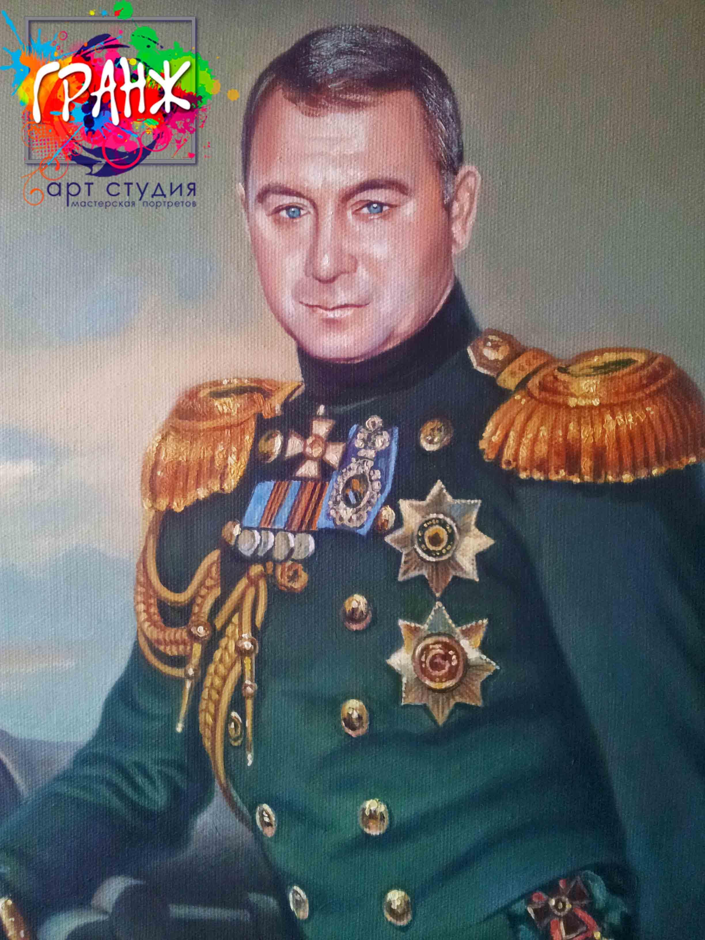 Заказать портрет маслом по фотографии в Тюмени