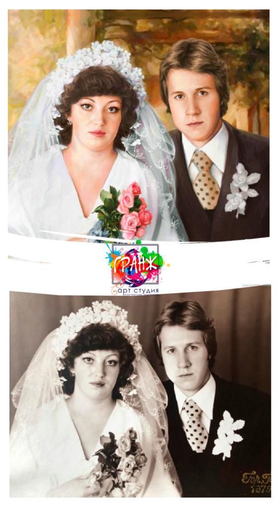 Восстановление старого фото в фотошопе
