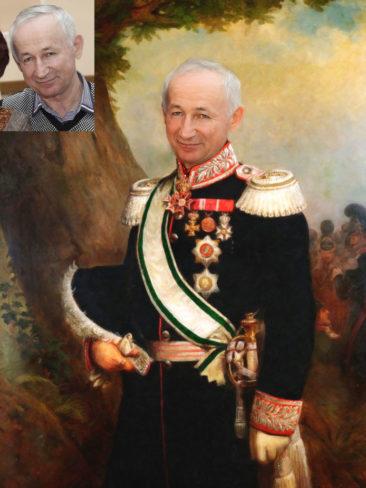 Где заказать исторический портрет по фото на холсте в Тюмени?